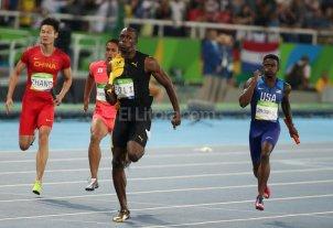 Usain Bolt se despidió con un nuevo oro