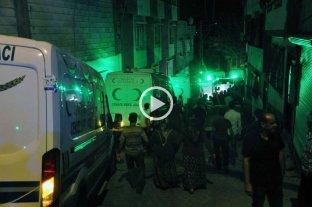 Video: atendado en una boda de Turqu�a dej� 50 muertos