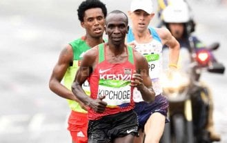 El keniano Eliud Kipchoge conquistó el maratón de Río 2016