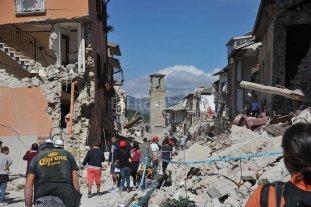 Ya son 73 los fallecidos por el sismo en Italia