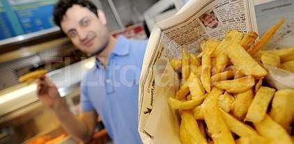 """Proponen que los locales """"fast food"""" informen las calor�as de sus platos"""