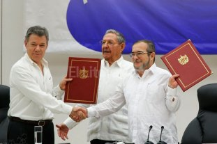 Colombia y las FARC firmaron el acuerdo de paz