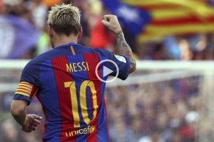 Messi premiado por un golazo en la Champions League