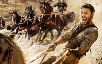 De lo clásico a lo actual - Jack Huston (Judah Ben-Hur) y Toby Kebbell (Messala) son los encargados de reinterpretar la famosa carrera de cuádrigas.