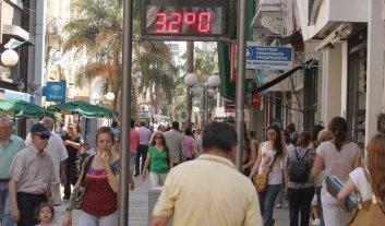 Viernes a puro calor: la m�xima podr�a llegar a 32�