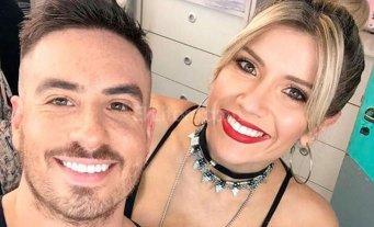 Se filtró una foto de Laurita Fernández y Fede Bal a la salida de un hotel -