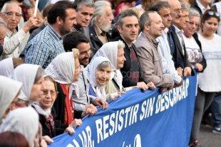 """Comenz� la """"marcha de la resistencia"""""""