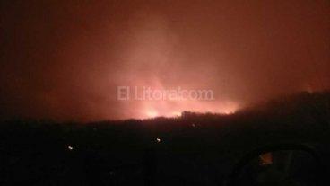 Focos de incendio preocupan a localidades de San Luis