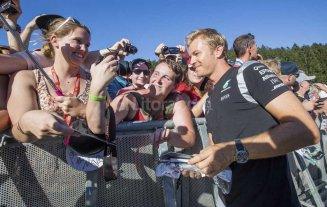 """Rosberg se qued� con la """"pole"""" en el GP de B�lgica"""