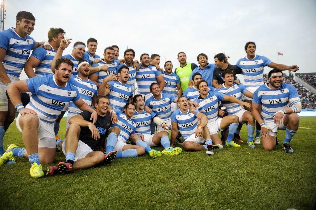 Los Pumas le ganaron a los Springboks por 26 a 24 en Salta Foto:Telam