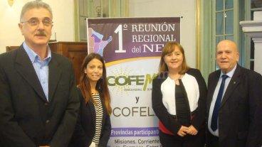 La provincia participó de una reunión del Cofelma y Cofema -