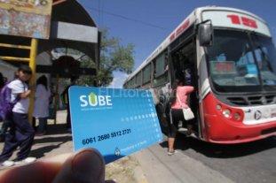 Desde el 1º de septiembre la tarjeta SUBE será la única vía de pago -