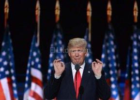 Trump modera su discurso en la recta final de la campa�a electoral