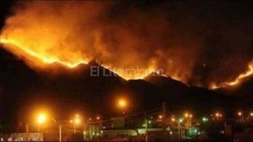 San Luis: los incendios forestales ya afectaron 8.500 hect�reas