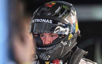 Rosberg gan� de punta a punta en B�lgica