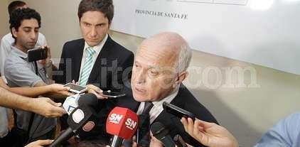 """""""Pullaro tiene todo mi respaldo"""" dijo el gobernador de la provincia"""