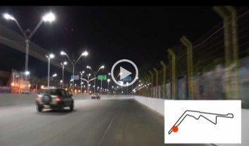 Video: mir� c�mo es el nuevo recorrido del Circuito Callejero