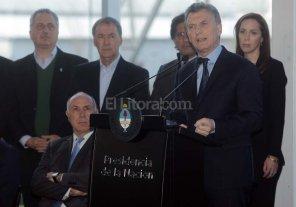"""Macri: """"Tenemos que ganar la guerra contra el narcotr�fico"""""""