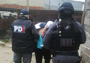 Detenida por robo