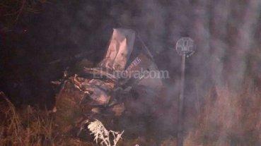 Muri� un camionero tras un choque en el sur de Santa Fe