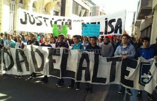 Marcharon para pedir justicia por la muerte de Melisa G�mez