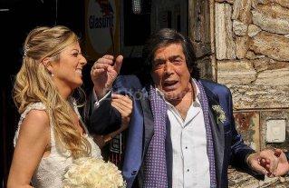 """""""Cacho"""" Casta�a se cas� en el Caf� la Humedad"""