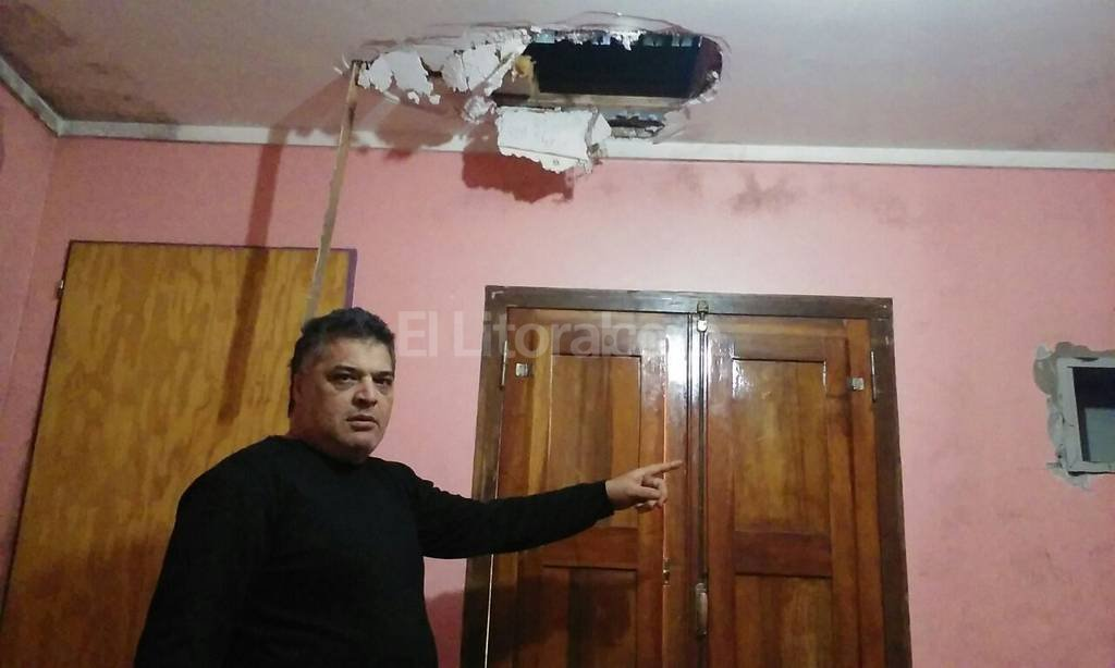 �No entiendo la facilidad que tuvieron para causar tanto destrozo�, dijo Daniel Ver�n. Danilo Chiapello