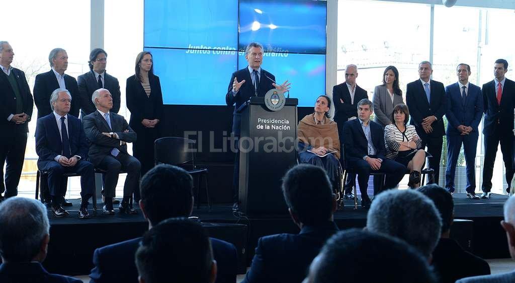El presidente argentino, Mauricio Macri, presento la semana pasada el programa�