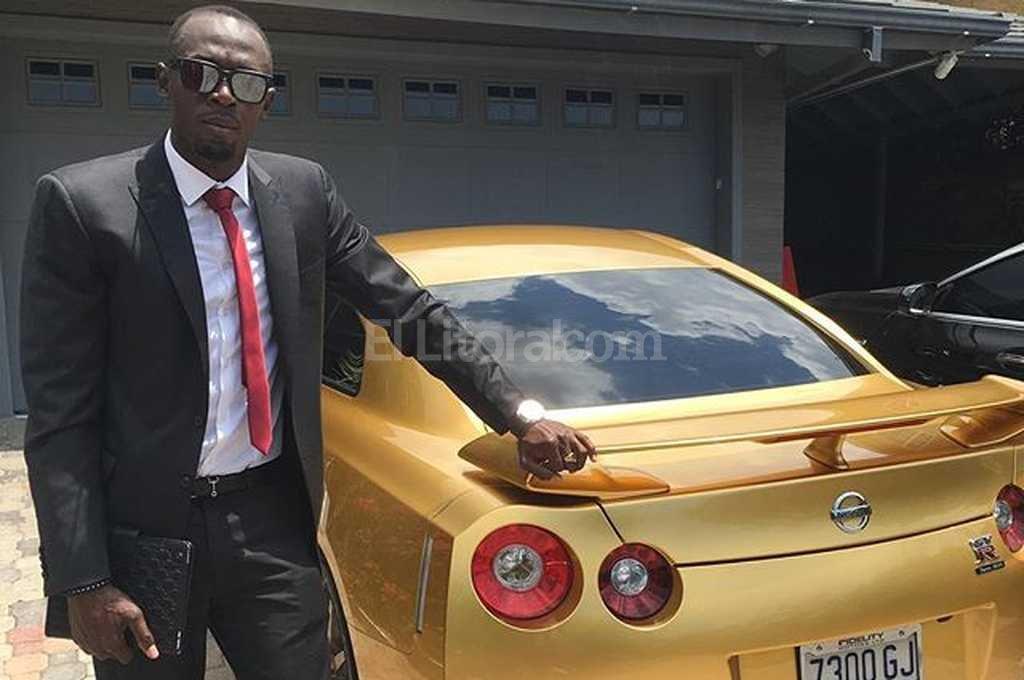 La maquina dorada de Usain Bolt