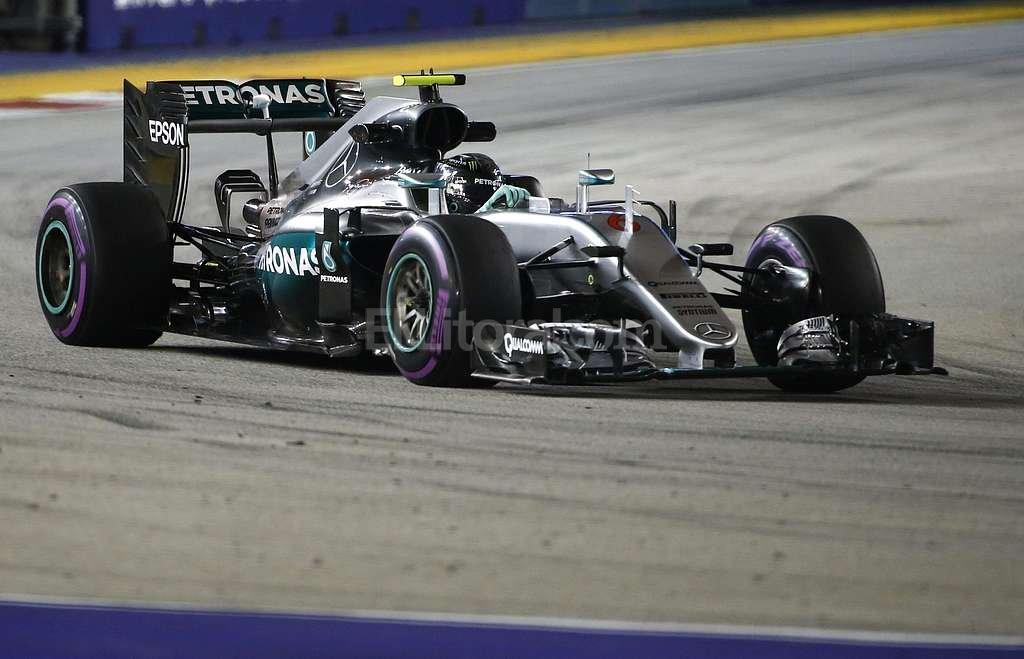 Nico Rosberg (Mercedes). Foto:EFE