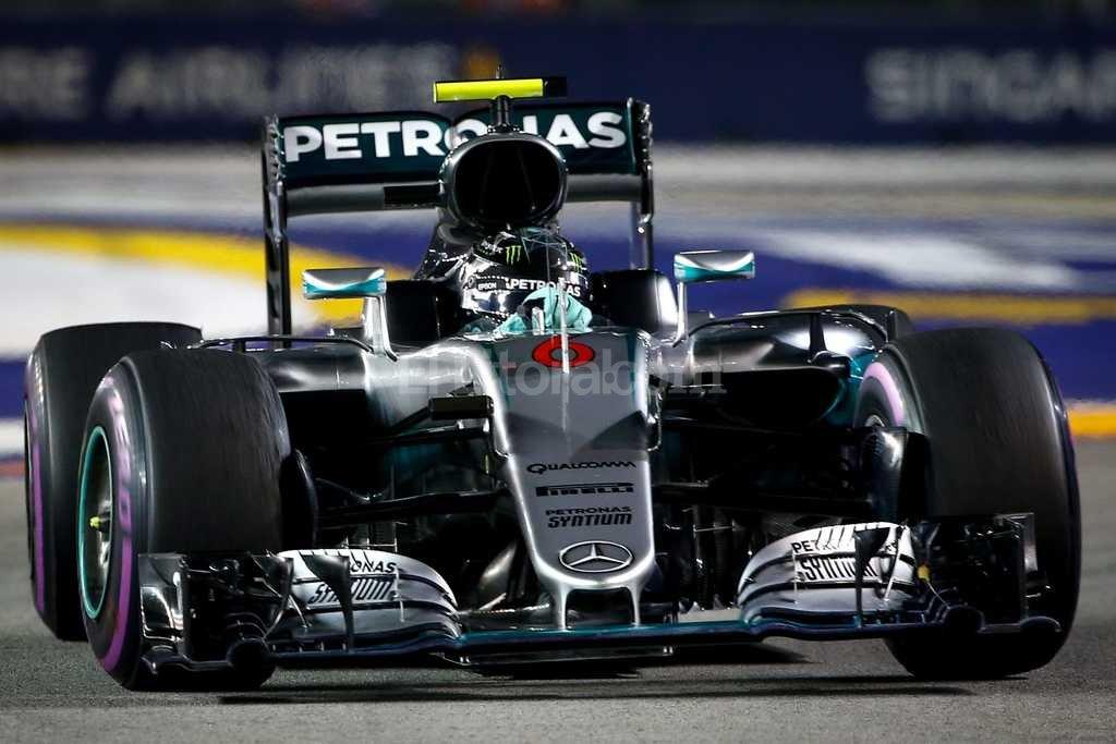 Circuito Callejero De Marina Bay : Rosberg ganó en el circuito callejero de singapur