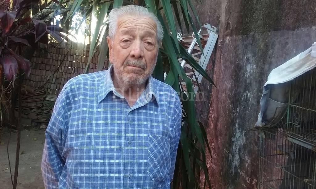 La situaci�n de Eleodoro no es distinta a la de muchos jubilados que est�n solos y padecen la delincuencia.  Foto:Danilo Chiapello