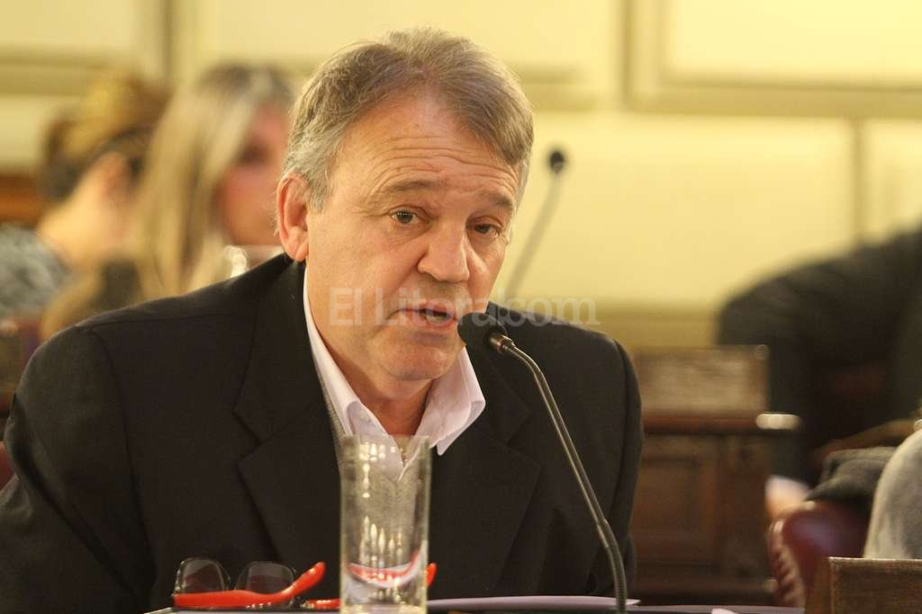 Diputado Gabriel Real, autor del proyecto de de ley de libre acceso a la informaci�n. Foto:Luis Cetraro