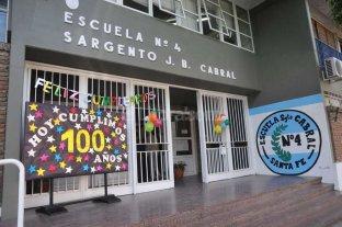 Cumple 100 a�os la escuela primaria Sargento Cabral