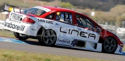 Juan Manuel Urcera hizo la pole en La Pampa -