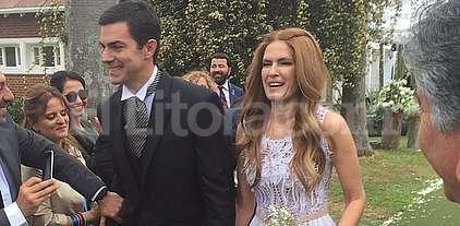 Se casaron Urtubey y Macedo