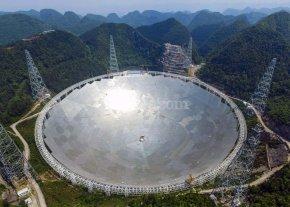 China avanza en investigaci�n espacial con el mayor radiotelescopio del mundo