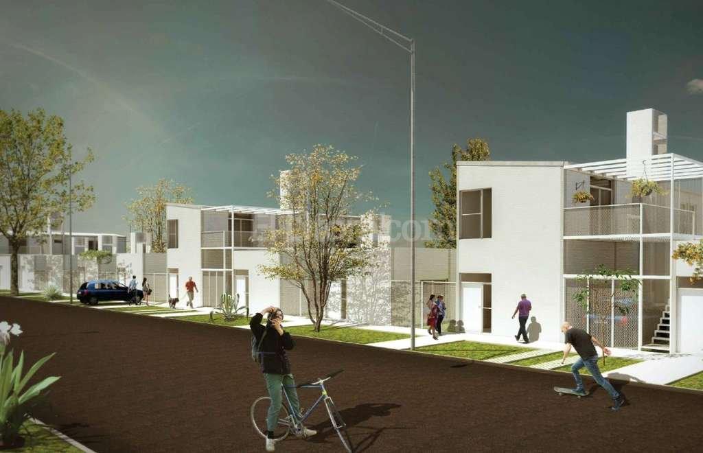 La maqueta muestra cómo serán las viviendas. Crédito: Municipalidad de Santa Fe