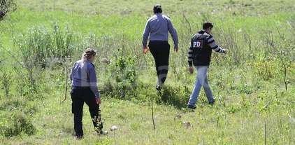 Hallaron restos �seos humanos bajo un aliviador de la ruta 168 -  -