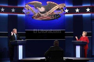 Clinton y Trump cara a cara en la TV estadounidense