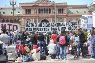 Movimientos sociales tienen previsto acampar por varios d�as en Plaza de Maryo