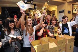 Sali� a la venta el nuevo  libro de Harry Potter