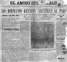Los hermanos Kennedy y el pasaje de la historia a la leyenda