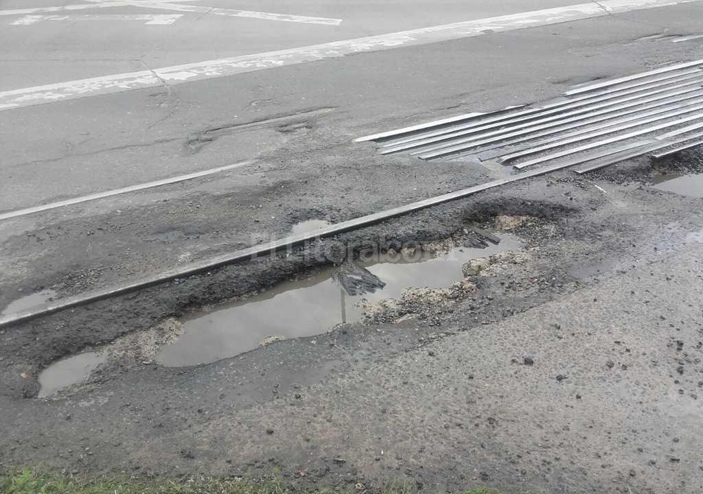 El pavimento se volvió a deteriorar <strong>Foto:</strong> Periodismo Ciudadano / WhatsApp