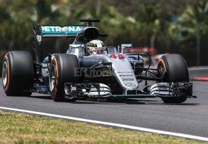 """Hamilton saldr� desde la """"pole"""" en Malasia"""
