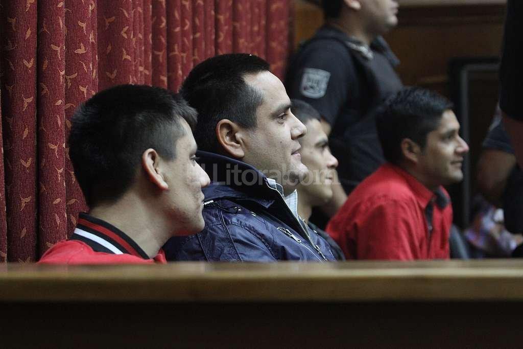 Cusi, Cabe, Bebi y Rober volvieron a tribunales, donde insistieron en que son inocentes. Mauricio Garín