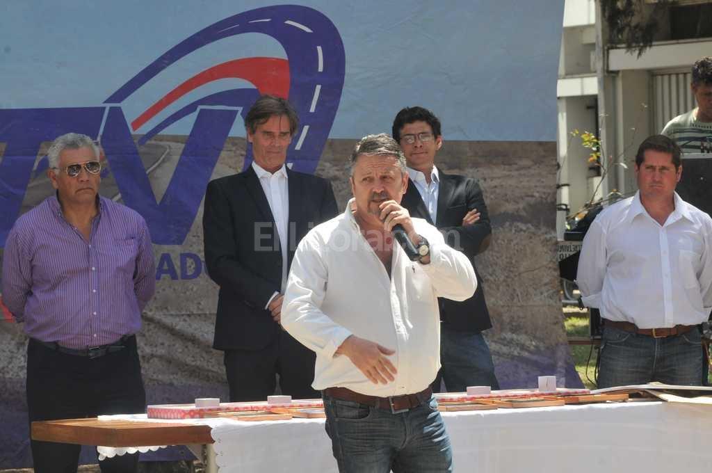 En el festejo, concretado en la v�spera, Garc�a puso de relieve el significado de la celebraci�n. Foto:Flavio Raina