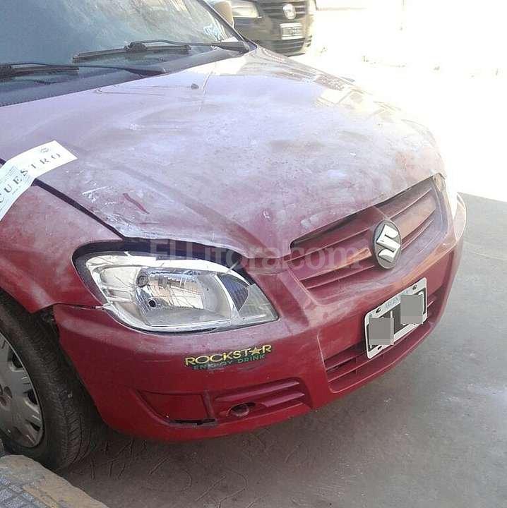 El auto fue secuestrado por la PDI el fin de semana, tras revisar las c�maras de seguridad de la zona. Foto:El Litoral