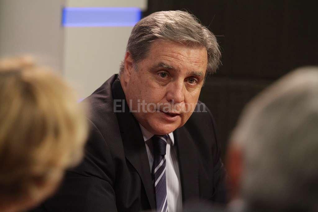 Escobar Cello dice que debe existir una tarea conjunta de Estado en sus distintos niveles para enfrentar el delito complejo. Foto:Pablo Aguirre