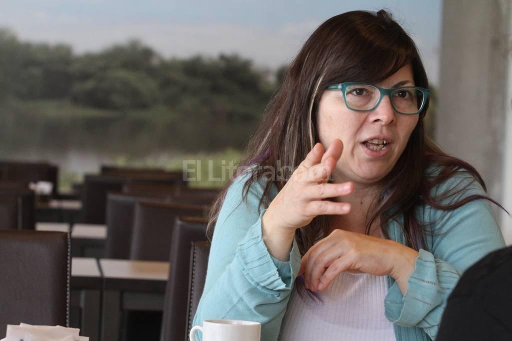 """""""Cuando ves un producto importado en los supermercados argentinos es porque se destruyó una fuente de empleo o porque un empleo que podía generarse no se va a crear"""". Foto:Mauricio Garín"""